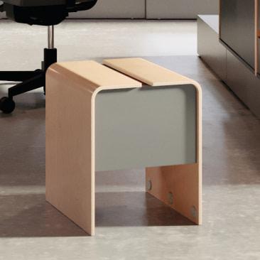 Plint gæstestol