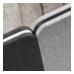 To skærme, 180° (0,-) (1268S)