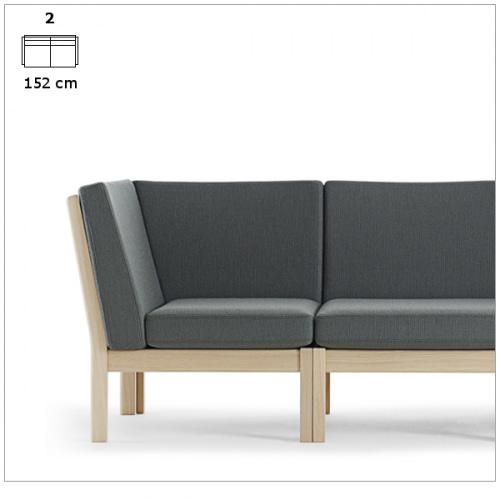 2 personers sofa (2 stk 280H)