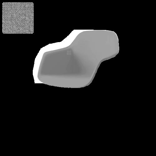 Lys grå Step Melange (0,-) (60004)