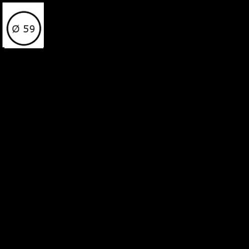 Ø59 cm (0,-) Fenix FNP 0720
