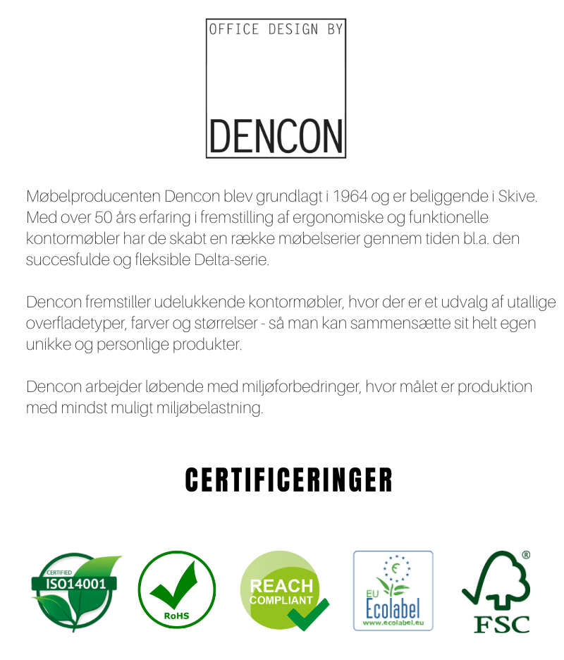 Dencon bæredygtighed