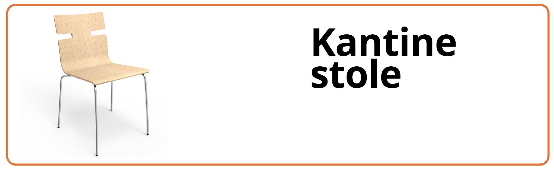 Se udvalg af kantinestole fra FUMAC