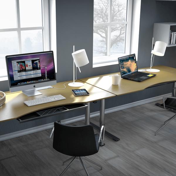 bord ahorn kontor