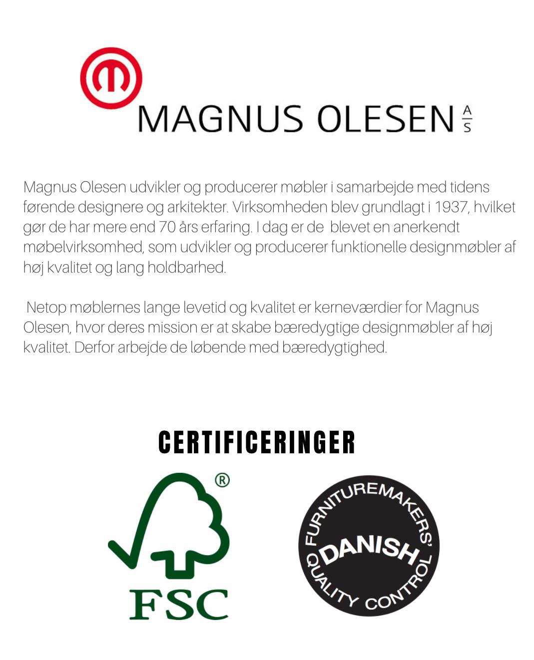 Om Magnus Olesen