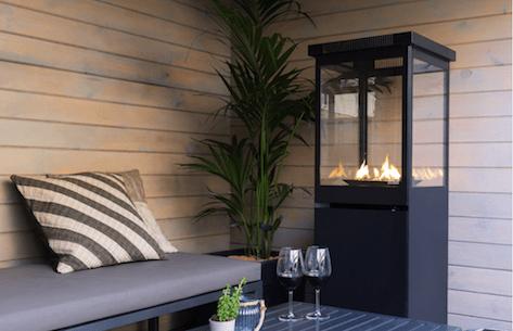 Restaurant og terrasse