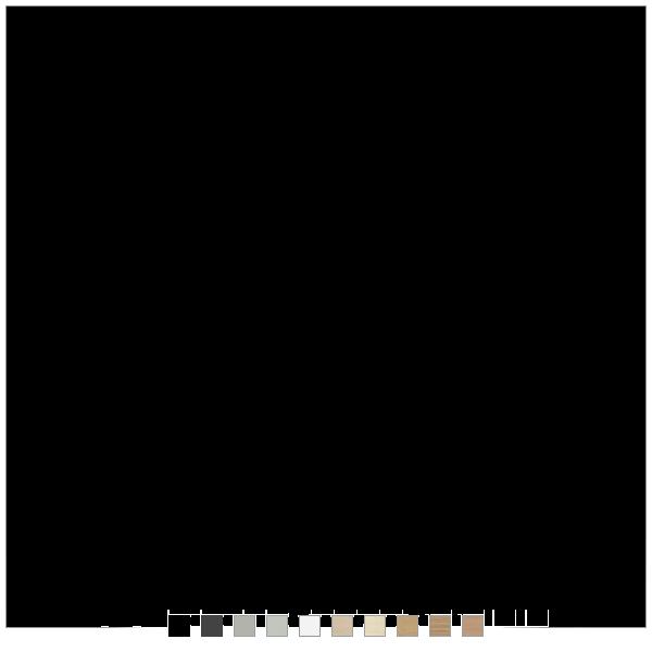 Fumac hæve sænkebord - 10 farver