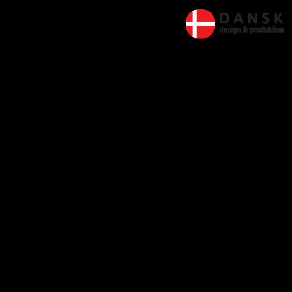 dansk flag uden ramme
