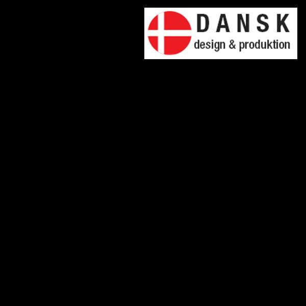 Stor dansk flag uden ramme