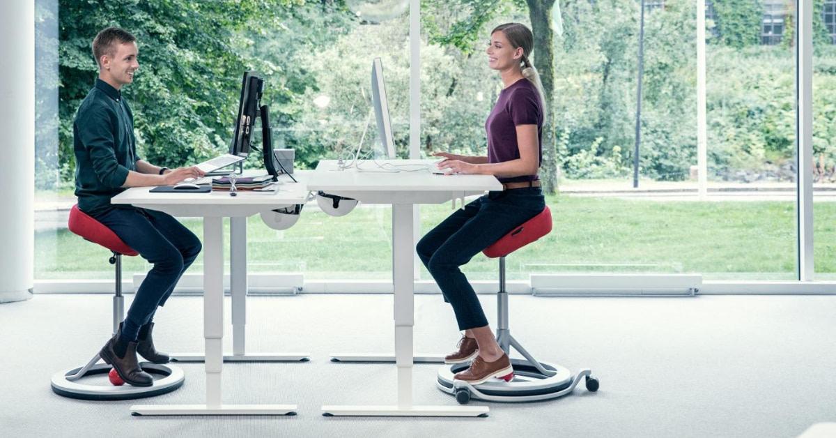 3 gode kontorstole til dårlig ryg