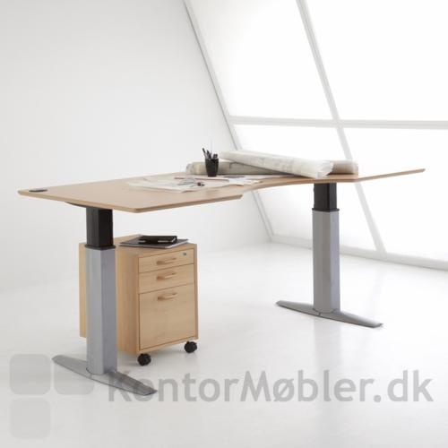 501-23 er en solid arbejdsstation med hæve sænke funktion