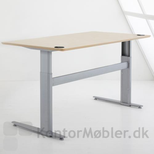 501-25 basis bord fra Conset med plade i ahorn finer