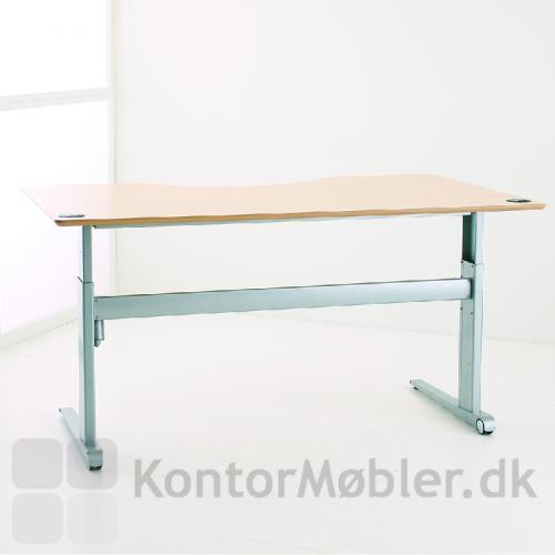 501-17 med bordplade i Ahorn-finer