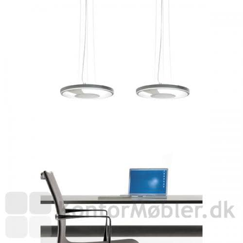 Light Disc Pendel med tranparant ramme