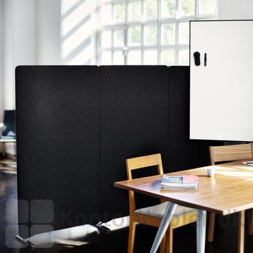 Edge gulvskærm til indretning af arbejdsplads