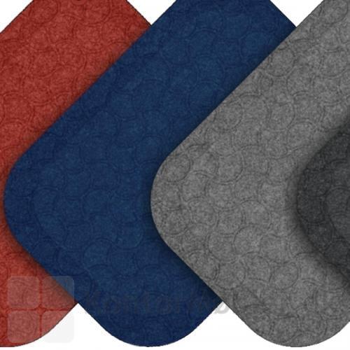 StandUp måtte fra Matting fås i sort, grå, rød og blå