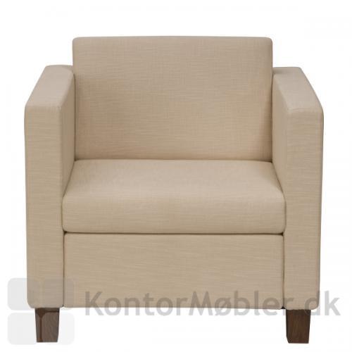 Soprano stol set fra fronten