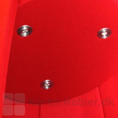 Cocoon med LED-light, har 3 LED lamper med styrkeregulering - lamperne kan manuelt vinkles efter ønske