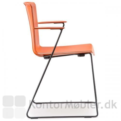 Tweet stolen med meder og armlæn
