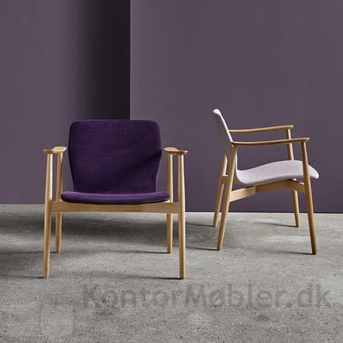 Butterfly Classic loungestol kan vælges med sædehøjde 39 eller 43 cm