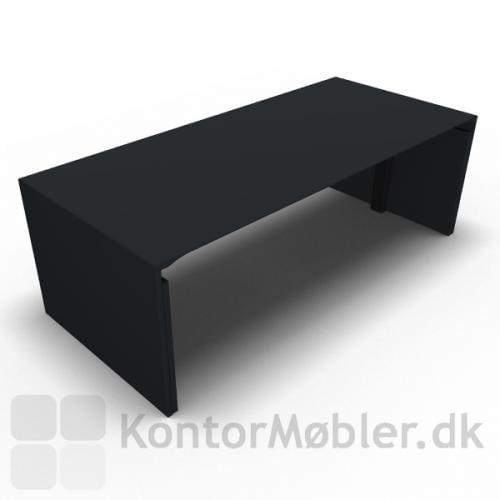 Dencon gavlbord i antracitgrå, et elegant alternativ til det traditionelle hæve sænke bord