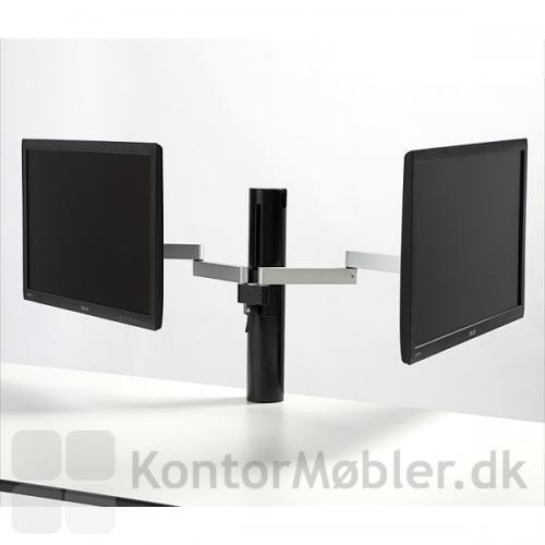 Future Flex skærmarm har et udtræk på 38 cm