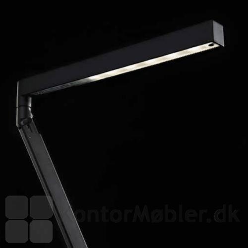 Bap LED lampe i sort
