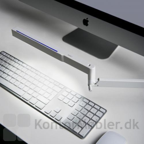 Bap LED væglampe som arbejdslys