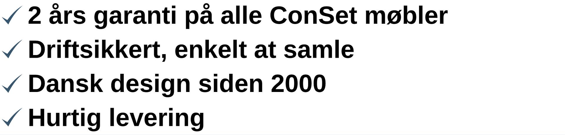 Conset logotekst