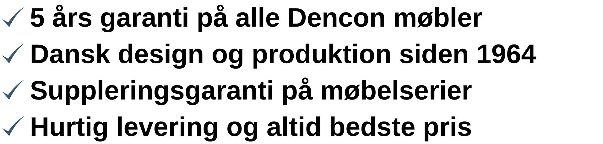 Dencon logotekst