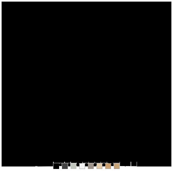 Dencon hæve sænkebord - 8 farver