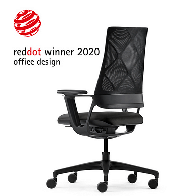 Connex2 kontorstol med netryg, med ergonomi i top