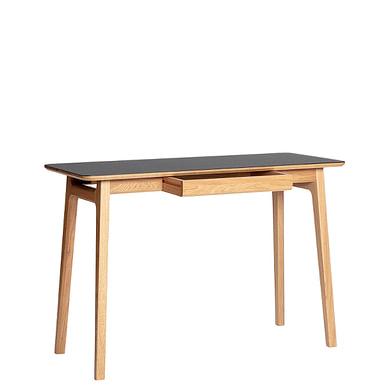 Freya skrivebord med smal bordplade