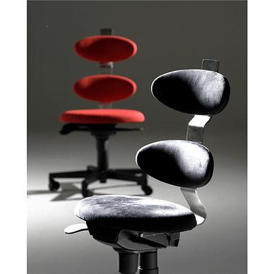 Spinella ergonomisk kontorstol med sort polstring